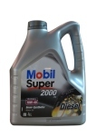 Mobil super 2000 Diesel Semi-synthetic motor oil 10w-40