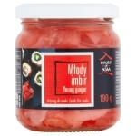 House of Asia Młody imbir różowy do sushi 190 g