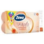 Zewa Deluxe Cashmere Peach Papier toaletowy 8 rolek