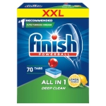 Finish All in 1 Lemon Tabletki do zmywarki 1120 g (70 sztuk)