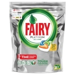 Fairy Platinum All In One Orange Kapsułki do zmywarki 37 sztuki