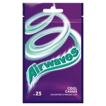 Airwaves Cool Cassis Guma do żucia bez cukru 35 g (25 drażetek)