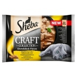Sheba Craft Collection Karma pełnoporcjowa smaki drobiowe w sosie 340 g (4 x 85 g)