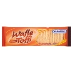 As-Babuni Wafle o smaku toffi 100 g