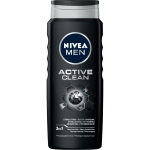 NIVEA MEN Active Clean Żel pod prysznic 500 ml