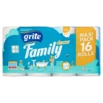 Grite Family Decor Papier toaletowy 16 rolek
