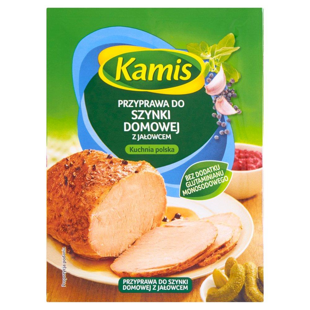 Kamis Kuchnia Polska Przyprawa Do Szynki Domowej Z Jałowcem Mieszanka Przyprawowa 22 G