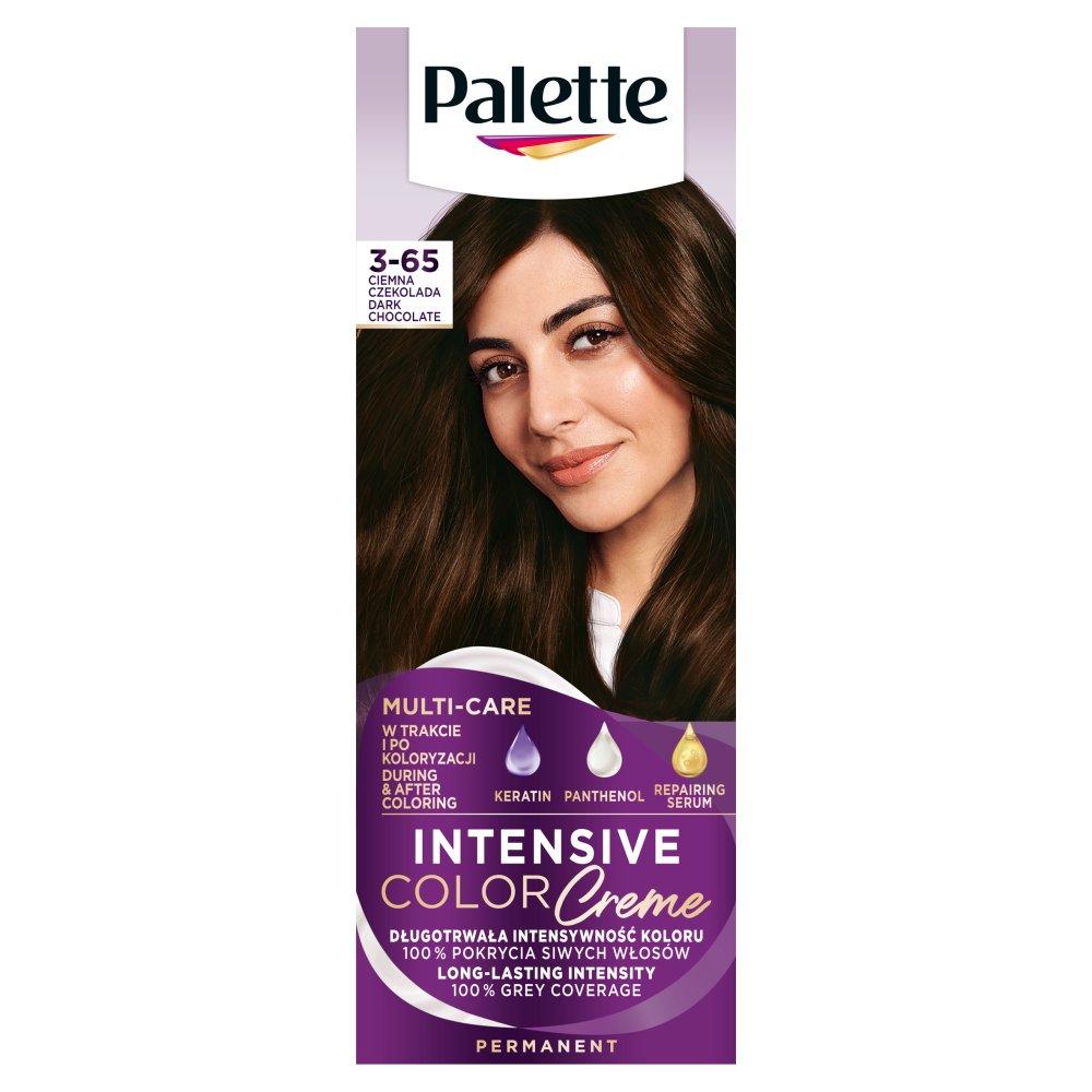Palette Intensive Color Creme Farba do włosów ciemna czekolada W2 (3 65)