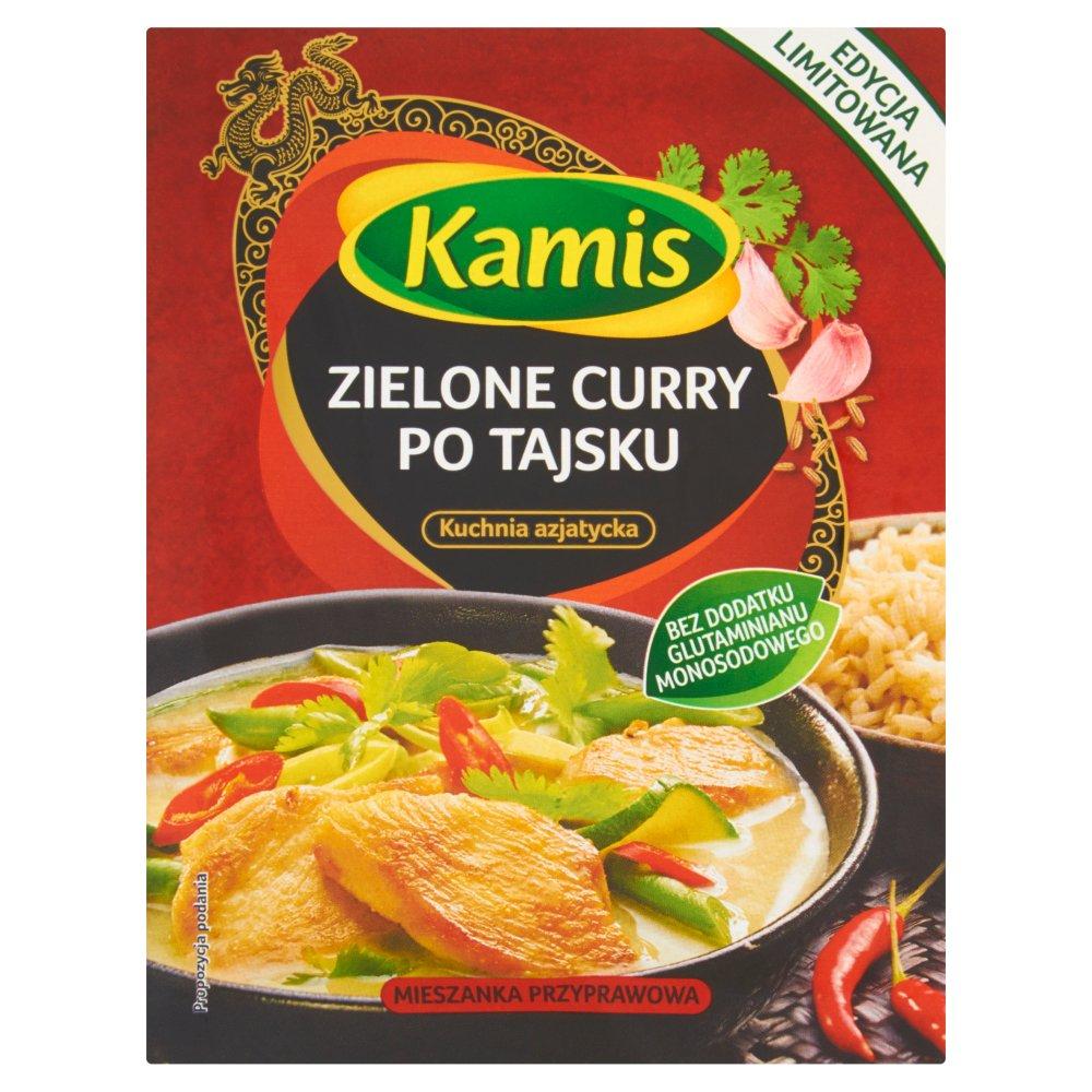 Kamis Kuchnia Azjatycka Zielone Curry Po Tajsku Mieszanka Przyprawowa 22 G