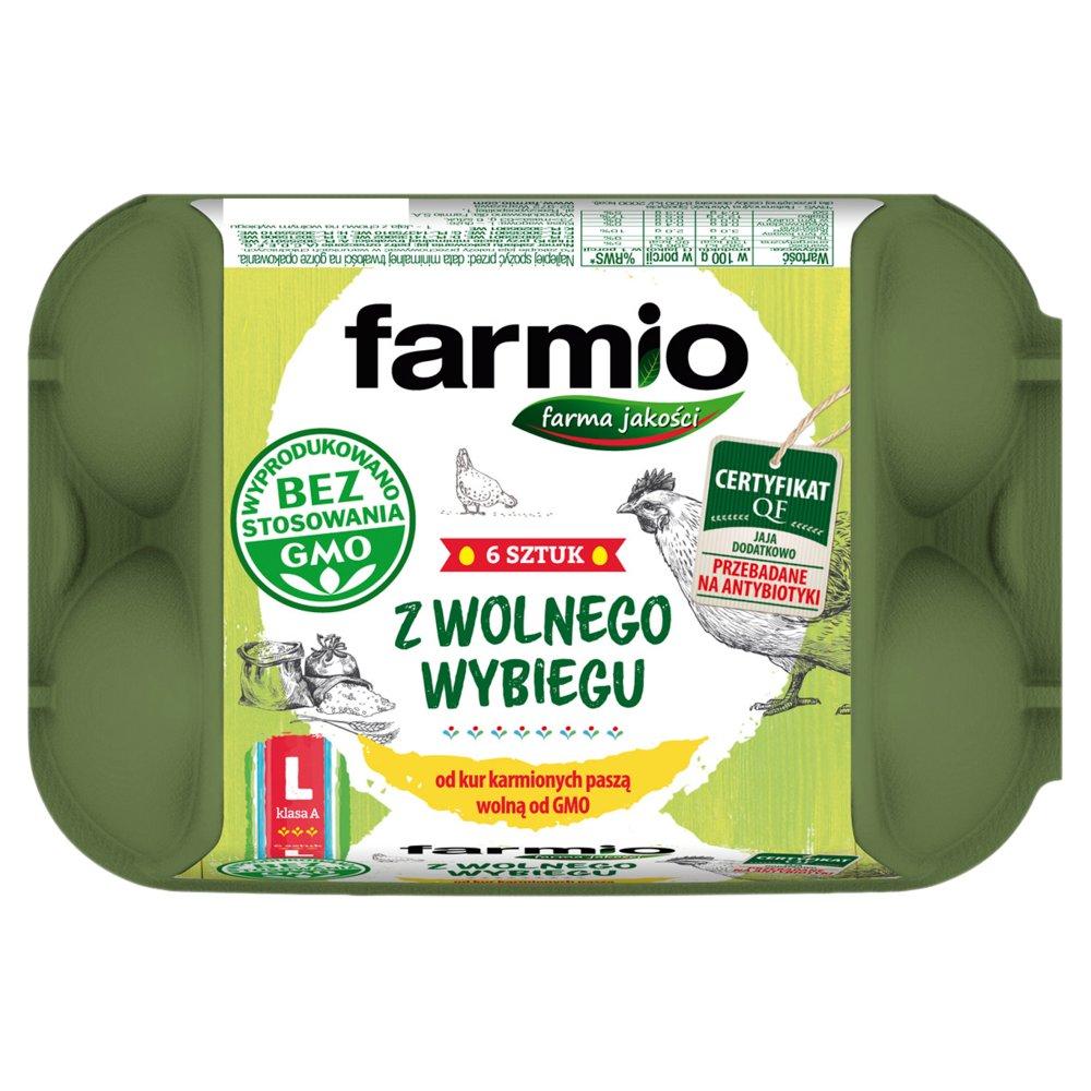 Niesamowite E.Leclerc Rzeszów - Hipermarket   Nabiał   Farmio Jaja z wolnego XD34