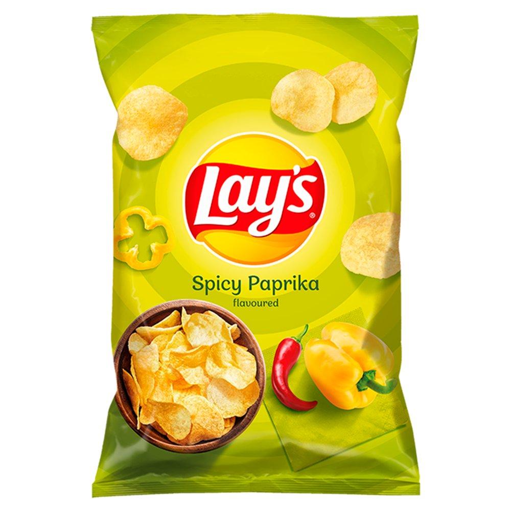 Lay S Chipsy Ziemniaczane O Smaku Pikantnej Papryki 140 G