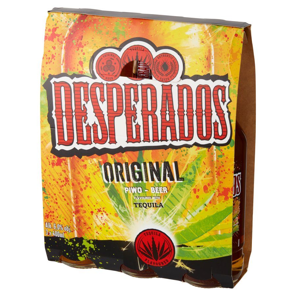 E Leclerc Rzeszow Hipermarket Alkohol Desperados Piwo O Smaku Tequili 3 X 400 Ml