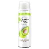 Satin Care Avocado Twist Żel do golenia dla kobiet 200ml