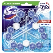 Domestos Power 5 Ocean Kostka toaletowa 3 x 55 g