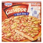 Dr. Oetker Guseppe Smaki Świata Pizza Hot dog 415 g